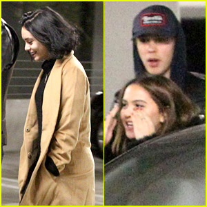 Vanessa Hudgens & Austin Butler Check Out 'Star Wars: The Force Awakens'
