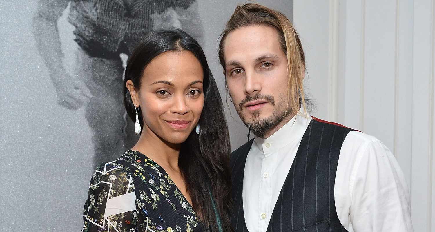 Zoe Saldana Marco Perego Share Cute New Photo With Twins Bowie