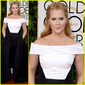 Amy Schumer Opts for Prabal Gurung for Golden Globes 2016