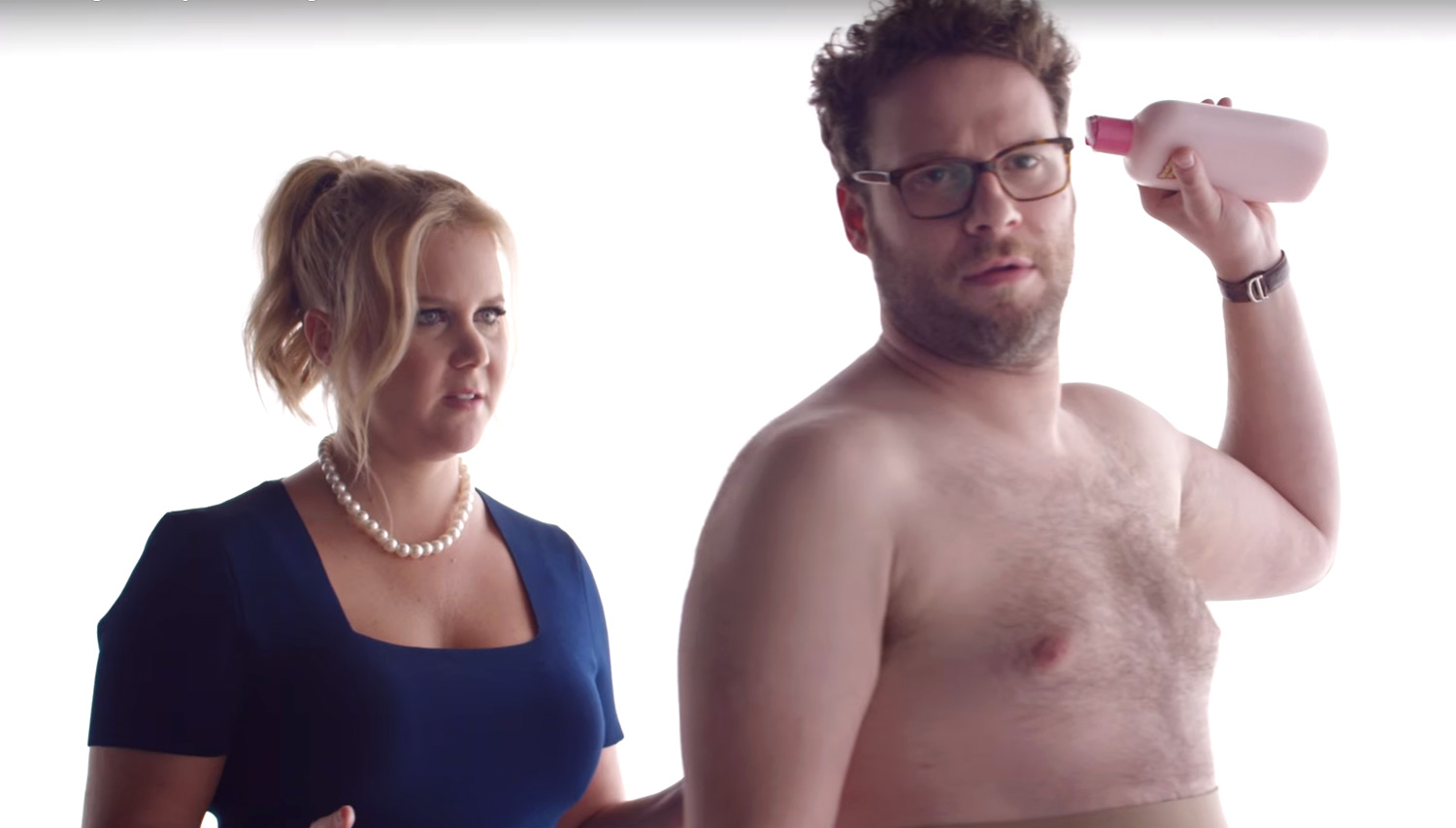 Amy schumer seth rogen tease their bud light super bowl ad amy amy schumer seth rogen tease their bud light super bowl ad amy schumer seth rogen just jared aloadofball Gallery