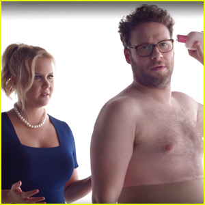 Amy Schumer & Seth Rogen Tease Their Bud Light Super Bowl Ad