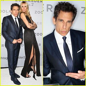 Ben Stiller & Heidi Klum Give Their Best Blue Steel At 'Zoolander 2' Sydney Premiere!