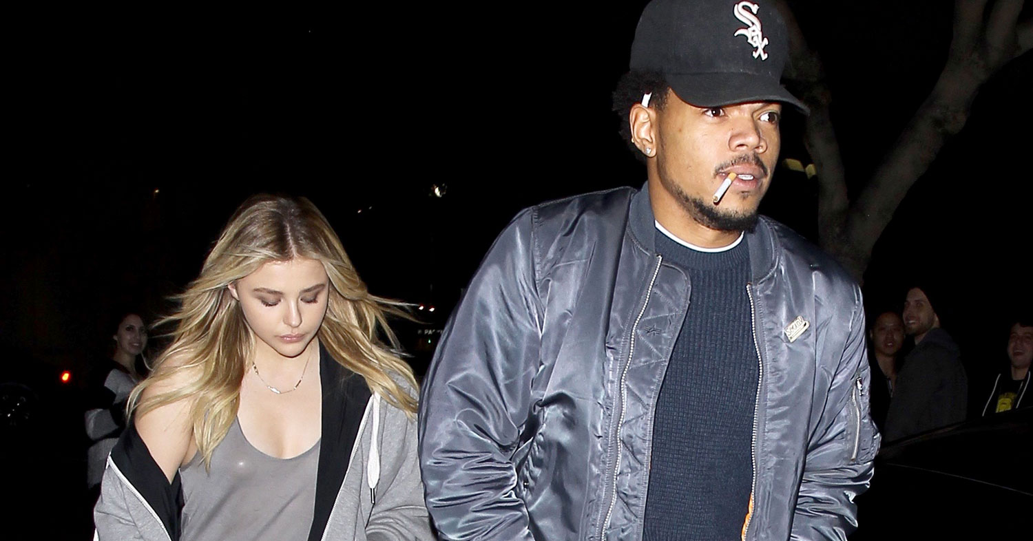 Chloe Moretz Seen Leaving Nightclub With Chance the Rapper ...