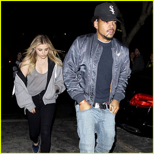 Chloe Moretz Seen Leaving Nightclub With Chance the Rapper