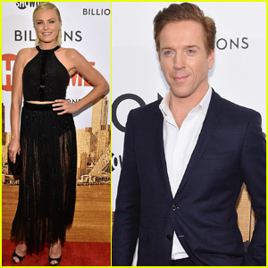 Damian Lewis & Malin Akerman Attend 'Billions' Series Premiere