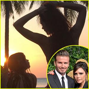 David & Brooklyn Beckham Share Adorable Family Photos