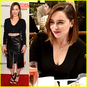 Emilia Clarke Celebrates Golden Globes With Fellow 'W' Magazine 'It Girls'
