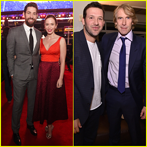 Emily Blunt Supports John Krasinski at '13 Hours' Dallas Premiere!