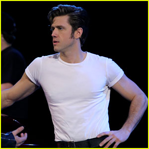 Grease: Live's Danny: Aaron Tveit Got Ripped for the Show!