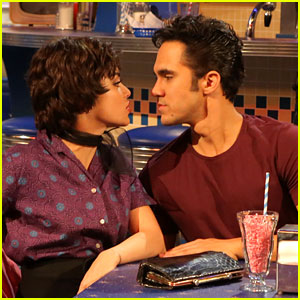 Grease: Live's Kenickie: Carlos PenaVega Dishes On Accidentally Kissing Vanessa Hudgens!