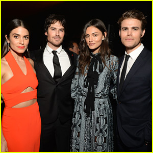 Ian Somerhalder & Nikki Reed Double Date in 'Heaven' with Paul Wesley & Phoebe Tonkin!