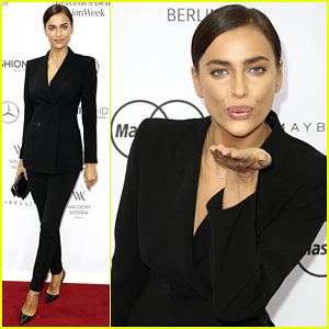 Irina Shayk Hits Berlin In Style for Marc Cain Fashion Show!
