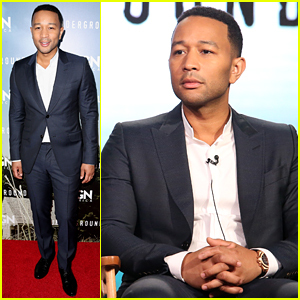 John Legend Suits Up for an 'Underground' Panel Discussion