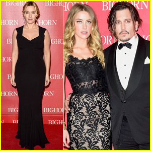 Johnny Depp & Amber Heard Couple Up at the Palm Springs Film Festival Awards Gala