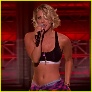 Kaley Cuoco Performs 'Move B-tch' on 'Lip Sync Battle' - Watch Now!