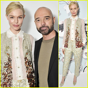 Kate Bosworth Hits Paris In Style For Schiaparelli Fashion Show!