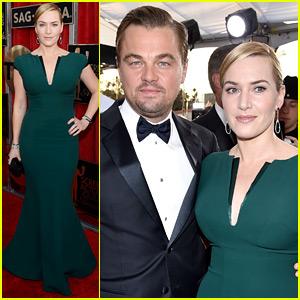 Kate Winslet & Leonardo DiCaprio Reunite at SAG Awards 2016!