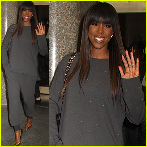 Kelly Rowland Rang in the New Year with a Kiss From Her Hubby