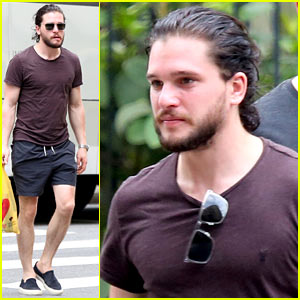 Kit Harington Enjoys a Guy's Trip in Brazil For New Year's 2016