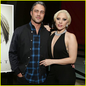 Lady Gaga Supports Fiance Taylor Kinney At 'The Forest' Screening!