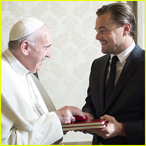 Leonardo DiCaprio Meets Pope Francis to Discuss Climate Change