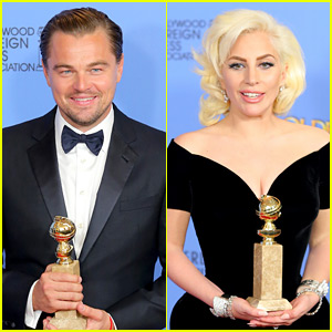 Leonardo DiCaprio Explains That Lady Gaga Moment at Golden Globes 2016 (Video)