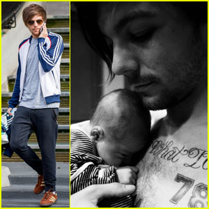 Louis Tomlinson Reveals Son's Name & First Baby Photo!