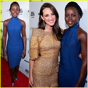 Lupita Nyong'o Honors Her Stylist Micaela Erlanger at Marie Claire Image Maker Awards!