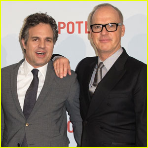 Mark Ruffalo & Michael Keaton Bring 'Spotlight' to London