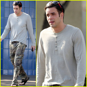 Mark Salling Steps Out Ahead of Child Pornography Court Date