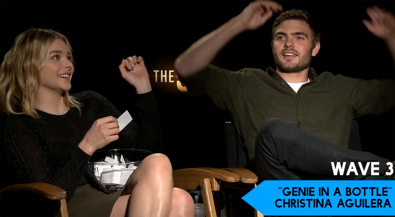 Chloe Moretz & '5th Wave' Cast Play Just Jared's 'Lose Da