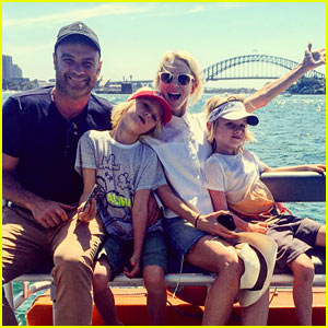 Naomi Watts Celebrates New Year's Eve 2016 Down Under!