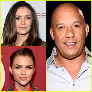 Nina Dobrev & Ruby Rose in Talks to Join Vin Diesel's 'XXX 3'