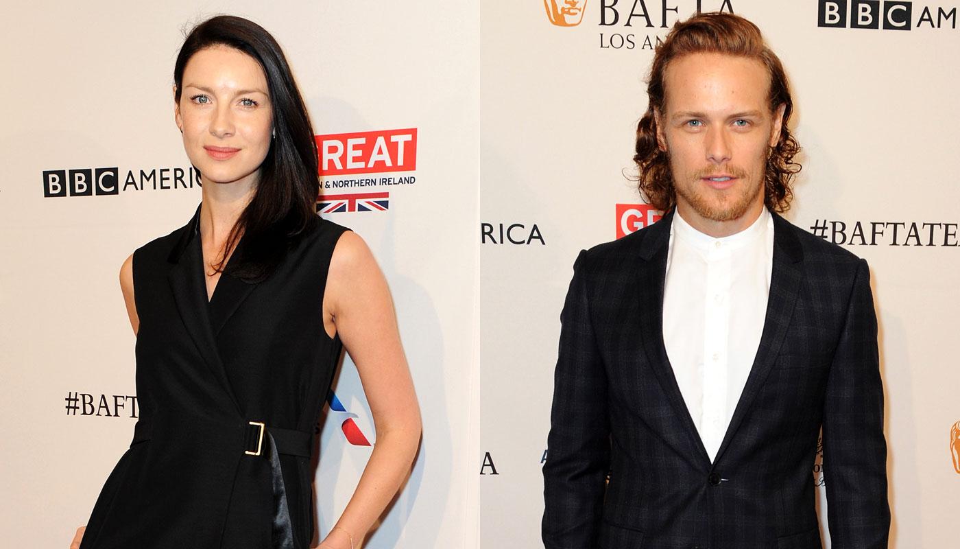 Outlander stars dating 2018