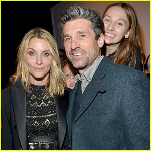 Patrick Dempsey Supports Estranged Wife Jillian at Marie Claire Awards