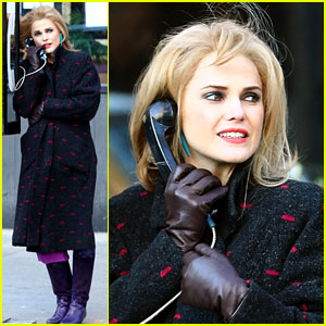Pregnant Keri Russell Goes Incognito on 'The Americans' Set