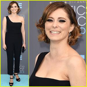 Crazy Ex-Girlfriend's Rachel Bloom Rocks a Chic Jumpsuit at Critics' Choice Awards 2016