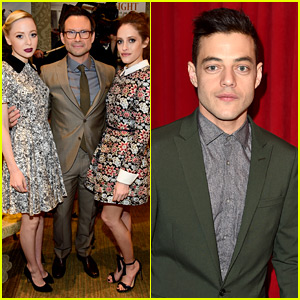 Rami Malek & 'Mr. Robot' Cast Celebrate at AFI Awards 2016