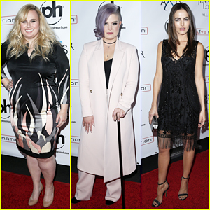 Rebel Wilson & Kelly Osbourne Have The 'Best Fun' In Vegas with Justin Bieber!