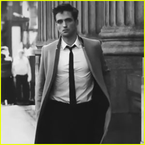 Robert Pattinson cleans up nicely in this brand new campaign video for ...