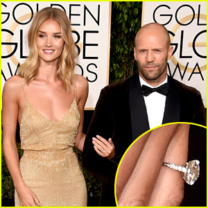 Rosie Huntington-Whiteley & Jason Statham Are Engaged - See Her Ring!