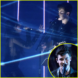 Shawn Mendes & Camila Cabello Rock the Stage at People's Choice Awards 2016 (Video)