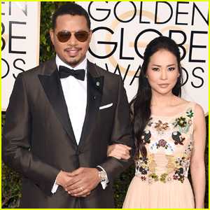 Terrence Howard Joined by Ex-Wife at the Golden Globes 2016