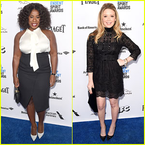 Uzo Aduba & Natasha Lyonne Buddy Up at Spirit Awards Brunch