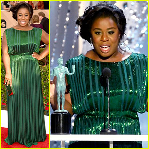 Uzo Aduba & 'OITNB' Cast Win at SAG Awards 2016!