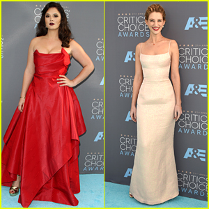 Kether Donohue & Yael Grobglas Hit The Critics' Choice Awards 2016