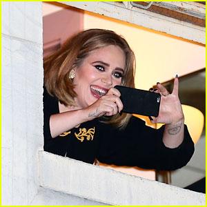 Adele Pops Out of Her Wiltern Window: 'I Feel Like Justin Bieber'