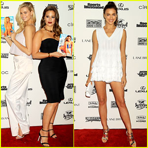 Ashley Graham & Hailey Clauson Celebrate Their 'SI Swimsuit Issue' Cover!