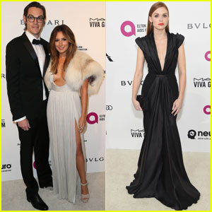 Ashley Tisdale & Holland Roden Party it Up After Oscars 2016