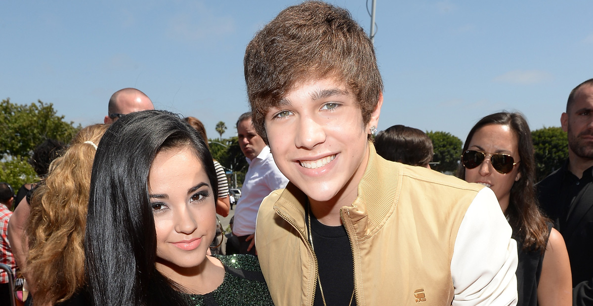 Is becky g and austin still dating